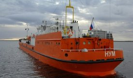 """Num"" hurries on help to the Yamal fishermen"