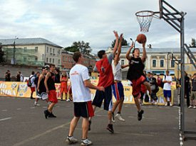 In Salekhard for the first time will pass street basketball competitions