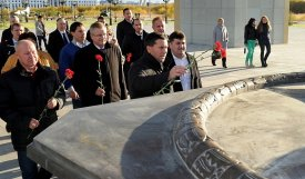 Dmitry Kobylkin and heads of municipalities honored memory of defenders of the Fatherland