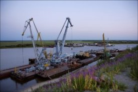 The Salekhard river port was responsible for death of the person