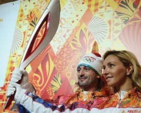 Yamal prepares for a meeting of Olympic flame