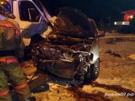 In Salekhard two persons died in accident