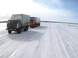 On Yamal because of frosts two winter roads are closed
